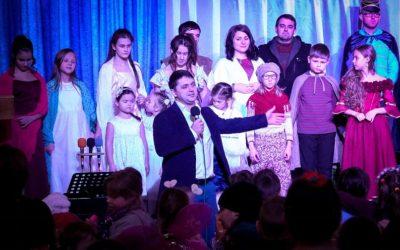 Рождественский праздник для детей из семей беженцев и воинов АТО